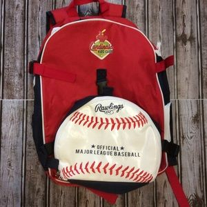 St. Louis Cardinals Kids Club Backpack Lunch Bag